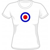 Girlie Shirt 'Mod Style white' all sizes