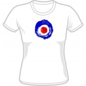 Girlie Shirt 'Brushed Target' all sizes