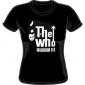 Girlie Shirt 'The Who - Maximum R&B' black, sizes S, M