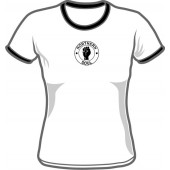 Girlie Shirt 'Northern Soul' Ringer - all sizes