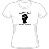 Girlie Shirt 'Northern Soul - Keepin' The Faith' all sizes