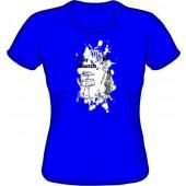 Girlie Shirt 'Sunny Domestozs' all sizes