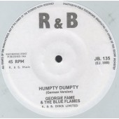 "Fame, Georgie 'Humpty Dumpty (German Version)' + 'Blackhead Chinaman'  7"""
