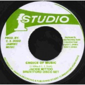 Mittoo, Jackie & Brentford Disco Set 'Choice of Music' +  'Part 2'  7""