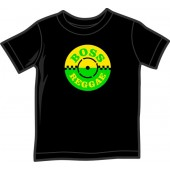 Kids Shirt 'Boss Reggae' black, 5 sizes