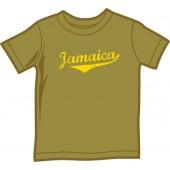 Kids Shirt 'Jamaica' yellow, all sizes