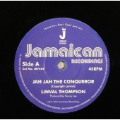 Thompson, Linval 'Jah Jah The Conqueror' + 'Version'  7""