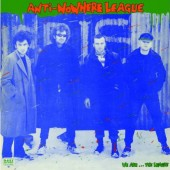Anti-Nowhere League 'We Are...The League'  LP ltd. black vinyl