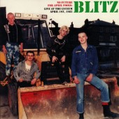 Blitz 'No Future For April Fools'  LP