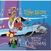 Brian Setzer Orchestra 'Dig That Crazy Christmas'  LP  ltd. col. vinyl