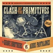 Grave Brothers vs. Adios Pantalones 'Clash Of The Primitives'  CD