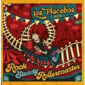 Los Placebos 'Rocksteady Rollercoaster'  LP+MP3  ltd. turquois vinyl