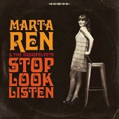 Marta Ren & The Groovelvets 'Stop Look Listen'  LP