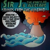 Sir J & The Kinky Lab Allstars 'Sounds From The Volcano'  LP ltd. coloured vinyl