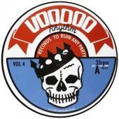 V.A. 'Voodoo Rhythm Compilation Vol. 4'  LP