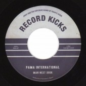 "Pama International 'Man Next Door' + 'Austerity Ska' 7"" clear vinyl"