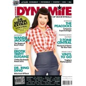 Dynamite! Magazine # 80 - The World Of Rock'n'Roll - 130 S. + CD *Peacocks*Dr. Ring Ding*Wanda Jackson*