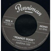 "Gee, Marsha 'Peanut Duck' + Count Yates 'Chimpanzee'  7""  back in stock!"