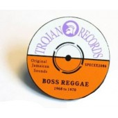 pin 'Trojan Records Boss Reggae'