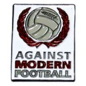 pin 'Against Modern Football'