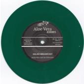 "Giulio Neri & The Officinalis 'Salad Breakfast' + Andrea & The Officinalis 'Sunset in Capri' 7"" green vinyl"