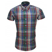 Relco Button Down Short Sleeved Shirt 'CK14', sizes L, XL