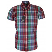 Relco Button Down Short Sleeved Shirt 'CK27', sizes S - 3XL