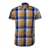 Relco Button Down Short Sleeved Shirt 'CK43', sizes S - 3XL