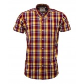 Relco Button Down Short Sleeved Shirt 'CK45', sizes M, L