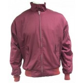 Relco Harrington Jacket burgundy, sizes S - 3XL