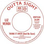 """Verdi, Liz  'Think It Over (And Be Sure)' + Linda Lloyd 'Breakaway'  7"""""""