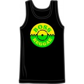 tank top 'Boss Reggae' black, all sizes