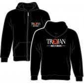 Zipper Jacket 'Trojan Records' black, sizes S - 2XL