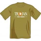 T-Shirt 'Trojan Records' black, all sizes