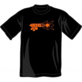 T-Shirt 'Big Shot' black, all sizes