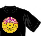 T-Shirt 'Gas Records - Pat Kelly' black all sizes