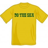 T-Shirt 'Do The Ska' used yellow, sizes S - 2XL
