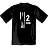 T-Shirt 'Two Tone' all sizes