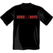 T-Shirt 'Rude Boys' all sizes black