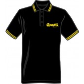 polo shirt 'Grover Records' black, all sizes