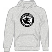 hooded jumper 'SHARP' grey, all sizes S - 3XL