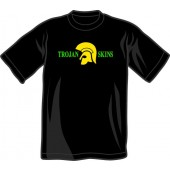 T-Shirt 'Trojan Skins' black, all sizes