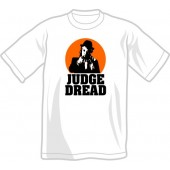 T-Shirt 'Judge Dread' white, sizes small - 4XL
