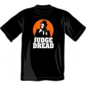 T-Shirt 'Judge Dread' black, sizes small - 4XL