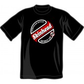 T-Shirt 'Skinhead - Spirit Of 69'  all sizes  black