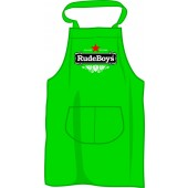 BBQ apron 'Rude Boys - Stay Rude Stay Rebel', kelleygreen