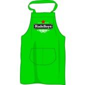 BBQ apron 'Rude Boys - Stay Rude Stay Rebel', kelleygreen