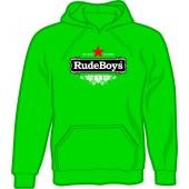 hooded jumper 'Rude Boys - Stay Rude'
