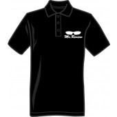 Polo Shirt 'Mr. Review' sizes S, M, XL black