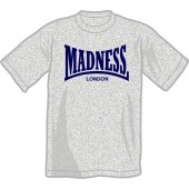 T-Shirt 'Madness' heather grey, all sizes